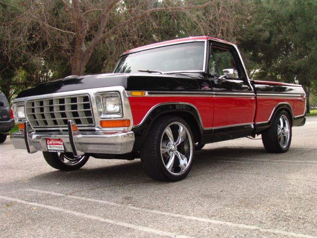 Ford That Looks Like Aston Martin >> 1977 Ford F100 XLT