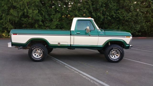How To Unlock Steering Wheel >> 1977 Ford F250 4x4 Highboy for sale in Renton, Washington ...