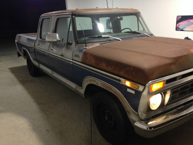 1977 ford f250 crew cab for sale in hanover pennsylvania united states. Black Bedroom Furniture Sets. Home Design Ideas