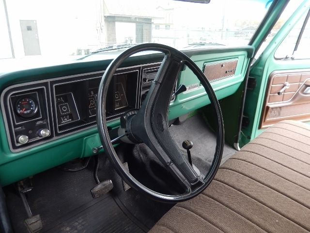 Ford F250 8 Foot Bed For Sale >> 1977 FORD F250 HIGHBOY TRUCK 4X4 GREEN NICE SOLID TRUCK F ...