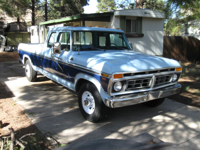 1977 Ford F250 Supercab Camper Special Ranger 2 Wd For