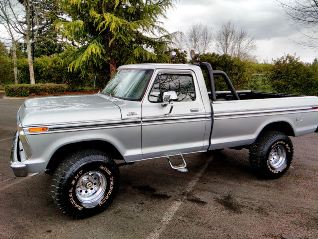 What Is The Towing Capacity Of A Ford F250 >> 1977 Ford Ranger XLT F150 4x4 Short Bed High Boy 300 ...