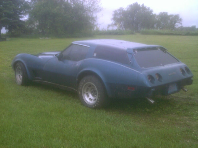 1977 Greenwood Corvette Gt Sport Wagon Rare Sports Car For