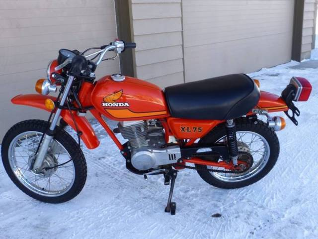 Honda Battery Warranty >> 1977 Honda XL 75 - Hard to find in this condition