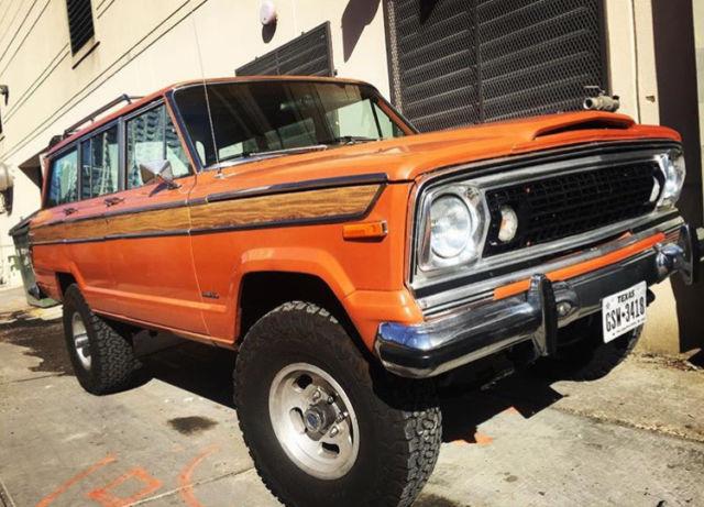 1977 Jeep Custom Wagoneer 401 Efi For Sale Photos Technical