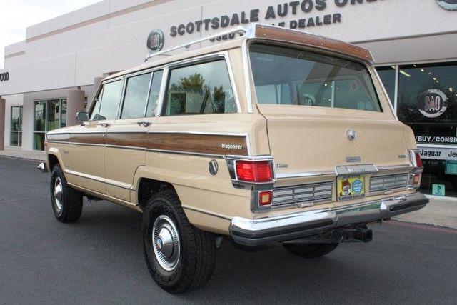 1977 jeep wagoneer brougham 4x4 89507 miles desert tan suv 401 cu in 6 6 l aut. Black Bedroom Furniture Sets. Home Design Ideas