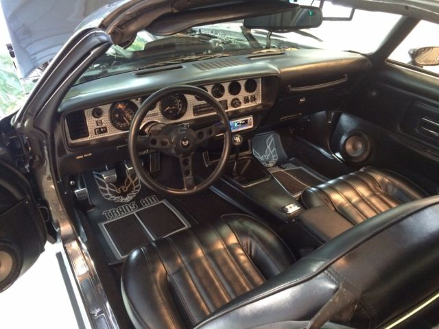 1977 Pontiac Trans Am Graphite Se Y82 W72 Retro Smokey And