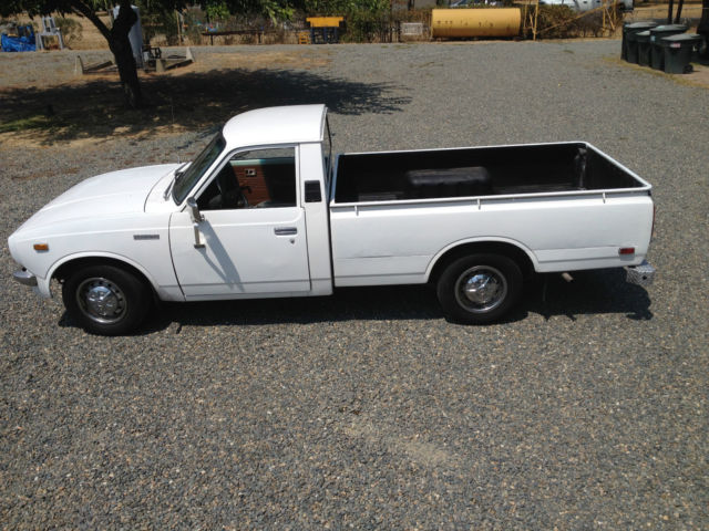 1977 toyota sr5 long bed pickup truck 20r 5 speed for sale. Black Bedroom Furniture Sets. Home Design Ideas