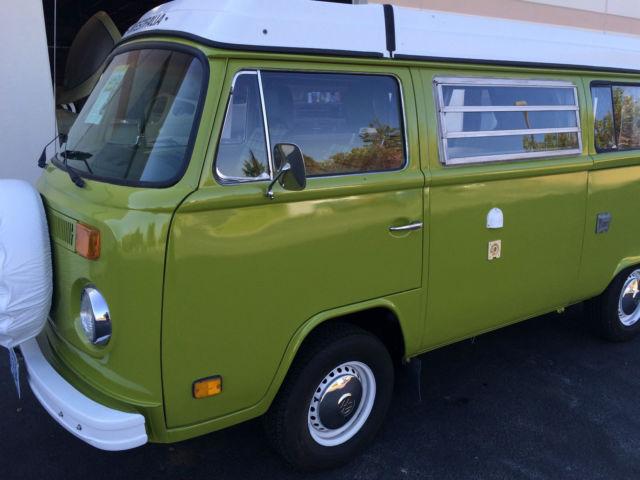 1977 volkswagen westfalia vw camper van bus for sale in redmond