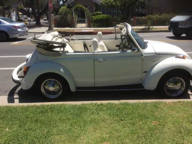 1977 Vw Karmann Special Edition Triple White Beetle