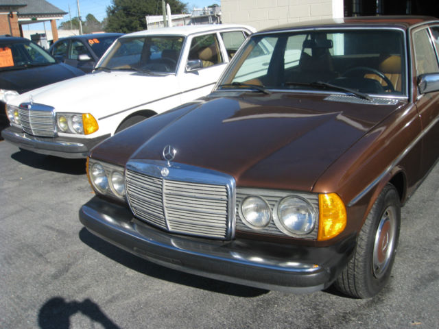1978 300d metallic brown for sale in winterville north for Mercedes benz nc