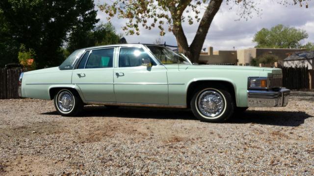 1978 Cadillac De Ville Sedan Deville 37 000 Miles Rust