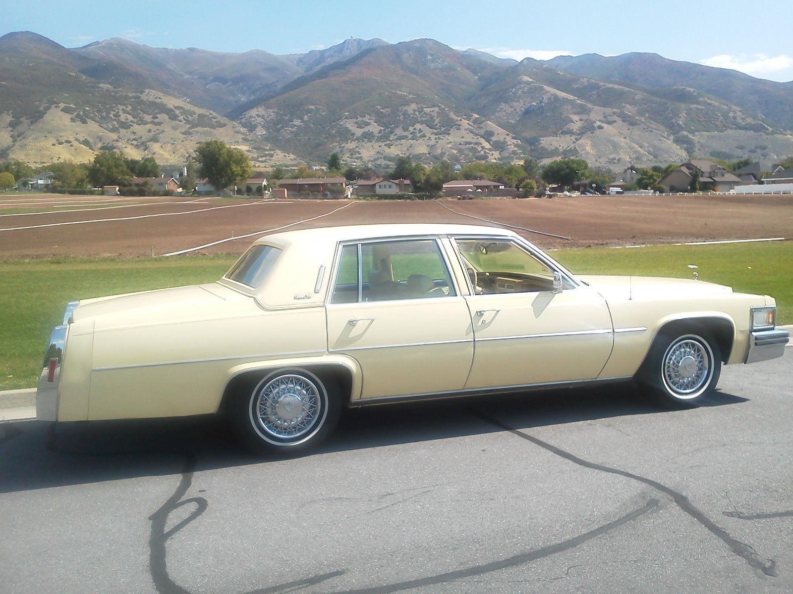 1978 Cadillac Deville Base Sedan 4 Door 70l For Sale In Bountiful
