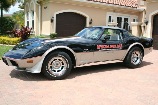 1978 chevrolet corvette indy pace car numbers matching l82 original invoice. Black Bedroom Furniture Sets. Home Design Ideas