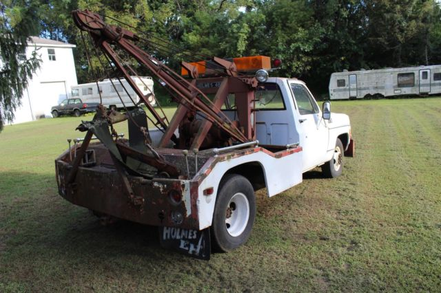 434343.com_1978 Chevy 1 Ton Truck with Holmes 480 Wrecker for sale: photos, technical ...