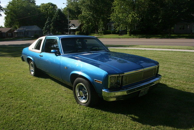 1978 Chevy Nova Custom Cabriolet Numbers Matching Must See