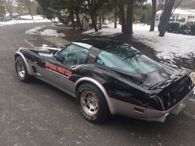 1978 corvette pace car l82 8 700 original miles ncrs top flight mint condition. Black Bedroom Furniture Sets. Home Design Ideas