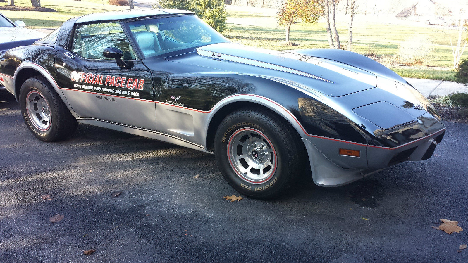 1978 corvette pace car low miles for sale in reisterstown maryland united states. Black Bedroom Furniture Sets. Home Design Ideas