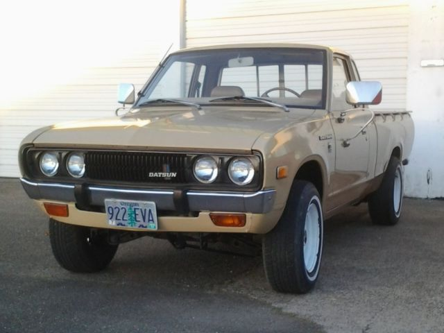 1978 Datsun 620 Kingcab Deluxe Pickup For Sale In Brookings Oregon United States For Sale Photos Technical Specifications Description