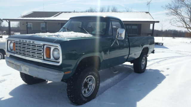 Dodge Power Wagon X New Crate Engine Dana Front Dana Powerlock