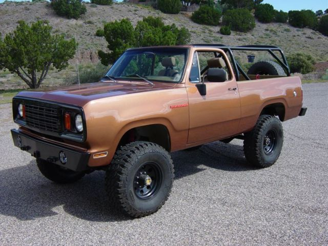 1978 Dodge Ramcharger Base Sport Utility 2 Door 7 2l For Sale In Albuquerque New Mexico United
