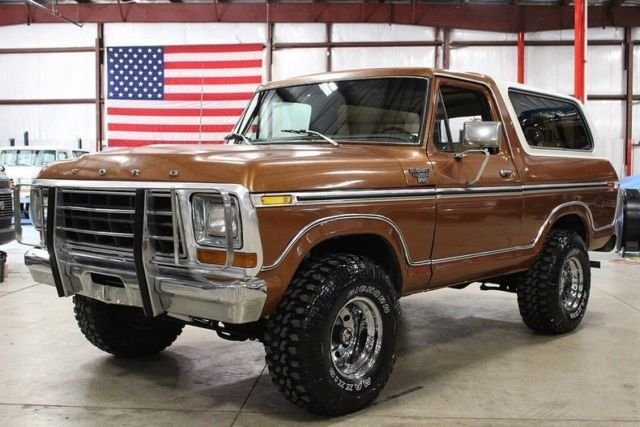 1978 Ford Bronco 33447 Miles Ember Metallic Suv 351 V8