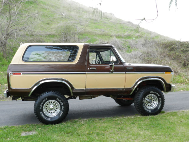 1978 ford bronco f150 4x4 original paint and body rare for the year best price for sale in. Black Bedroom Furniture Sets. Home Design Ideas