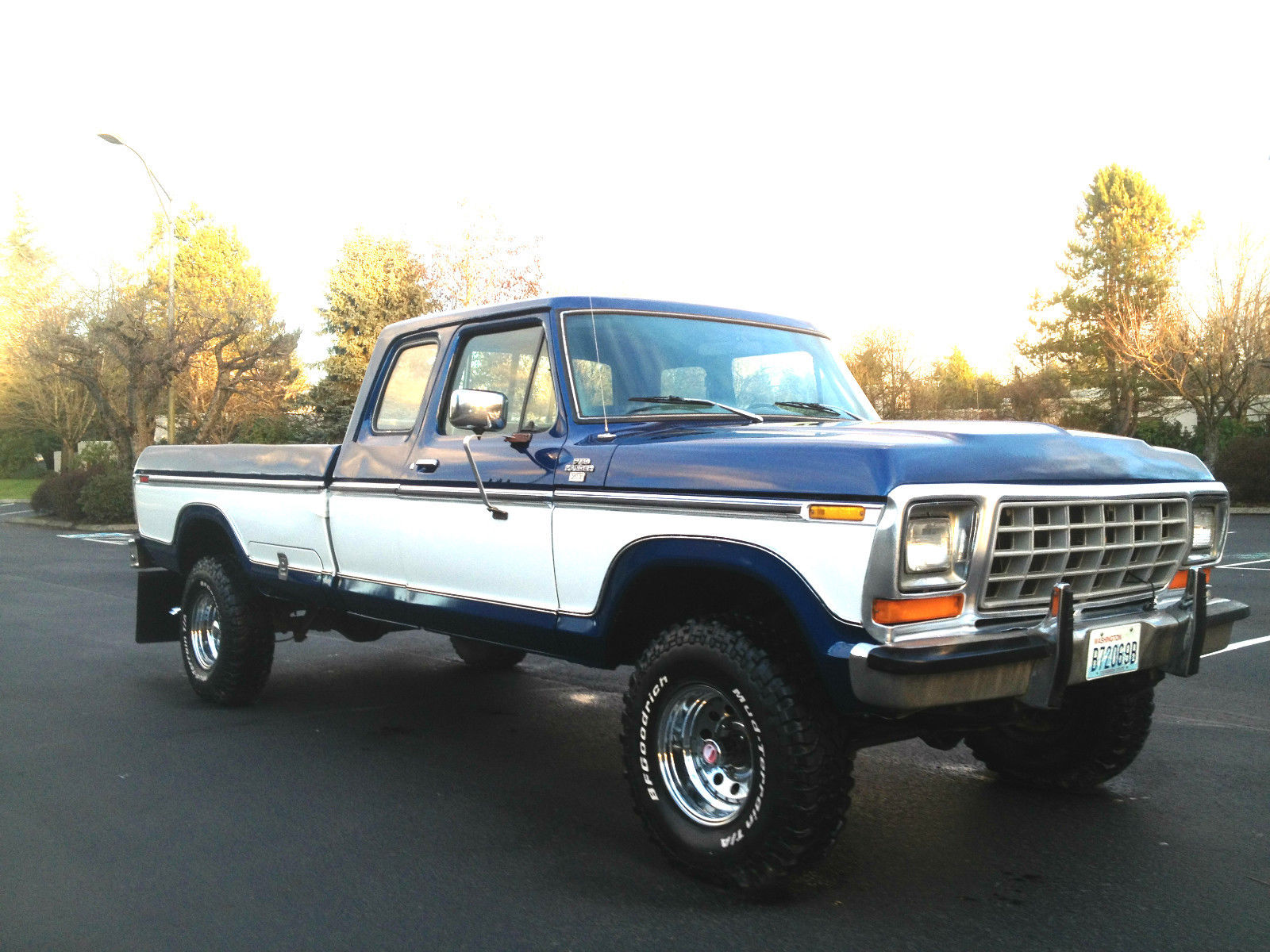 1978 ford f 150 ranger xlt lariat supercab 4x4 for sale in. Black Bedroom Furniture Sets. Home Design Ideas