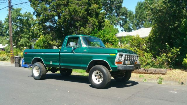 1978 Ford F250 >> 1978 Ford F-250 4x4 HighBoy 4wd pick up truck CA 1 Owner ...