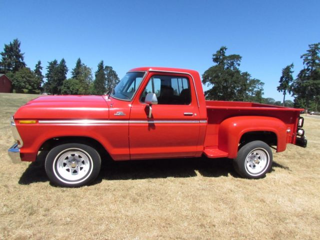 1978 Ford F100 Stepside Short Box Like F150 No Reserve