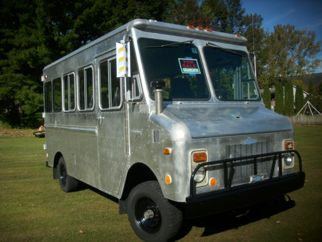 1978 Grumman Kurbaster 4x4 Van Ultimate 4wd Van For Sale