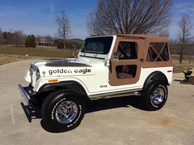 1978 jeep cj7 golden eagle frame off restoration for sale in cleveland georgia united states. Black Bedroom Furniture Sets. Home Design Ideas