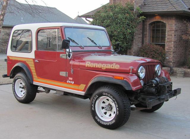 1978 jeep renegade cj7 levi edition survivor 43k miles for sale in maysville oklahoma united. Black Bedroom Furniture Sets. Home Design Ideas