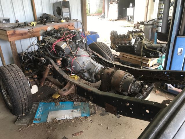 1978 K10 Scottsdale 4x4 Project Truck With Original Plus