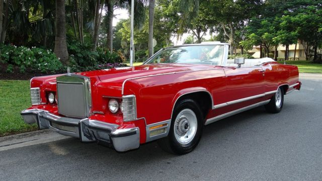 1978 Lincoln Town Coupe Convertible Conversion By Silcco One Of A