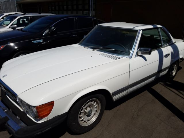 1978 mercedes 450sl convertible with hardtop for Mercedes benz hardtop convertible