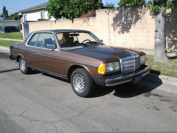 1978 mercedes benz 300cd 2 door sunroof coupe california for Mercedes benz 2 door coupe for sale