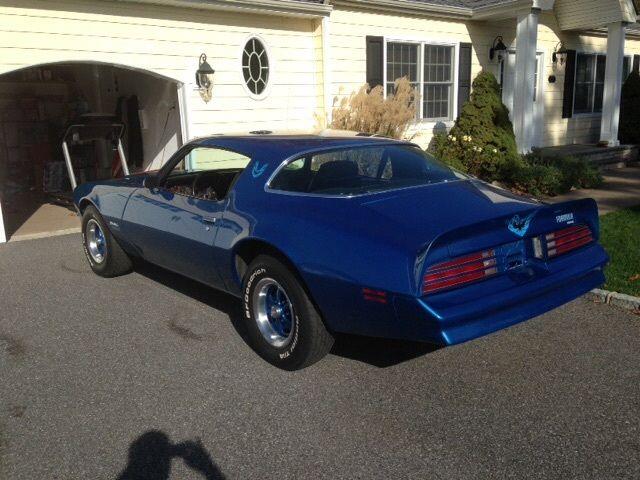 1978 Pontiac Firebird Formula Martinique Blue Motor 305