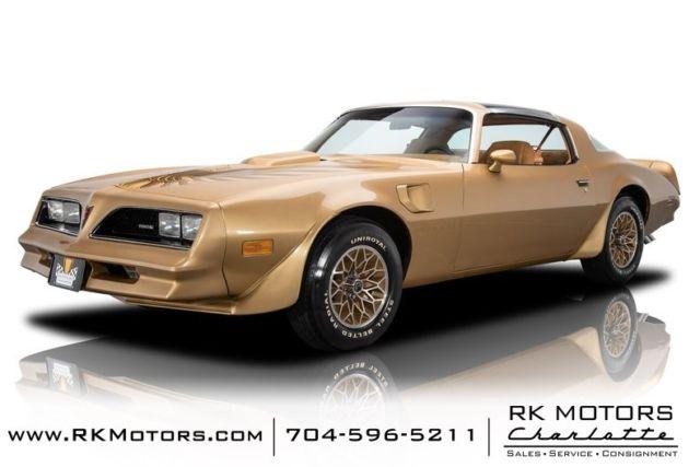 1978 Pontiac Firebird Trans Am Solar Gold Hardtop 400 V8 3
