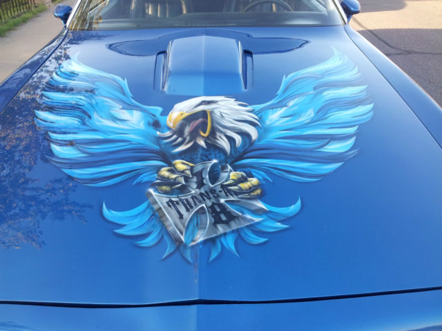 1978 Pontiac Trans Am With Custom Airbrushing For Sale In
