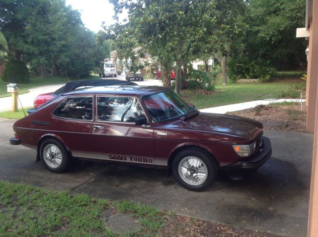 1978 saab 99 turbo no reserve for sale in palm coast florida united states. Black Bedroom Furniture Sets. Home Design Ideas