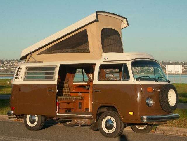 1978 volkswagen type ii vw bus westfalia camper van. Black Bedroom Furniture Sets. Home Design Ideas