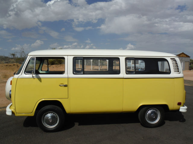 1978 VW BUS TYPE 2, 2 0 FUEL INJECTED, RUST FREE CALIFORNIA