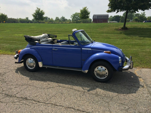 1978 vw super beetle convertible for sale in ann arbor michigan united states. Black Bedroom Furniture Sets. Home Design Ideas