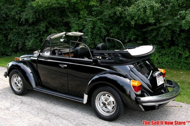 2 Year Car Lease >> 1979 79 Volkswagen VW Super Beetle Limited Edition Black Epilog Convertible for sale in Waukesha ...