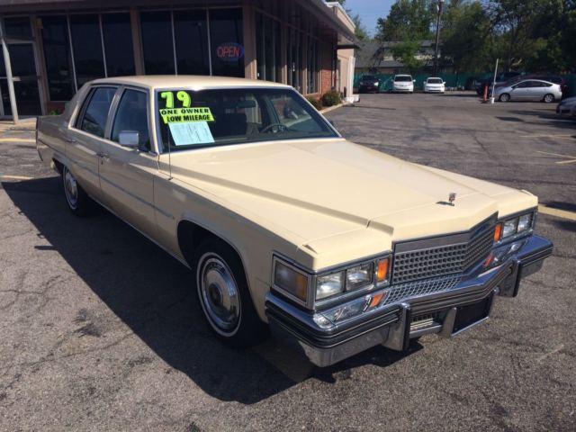 1979 Cadillac Devillle 83 000 Actuall Miles Original