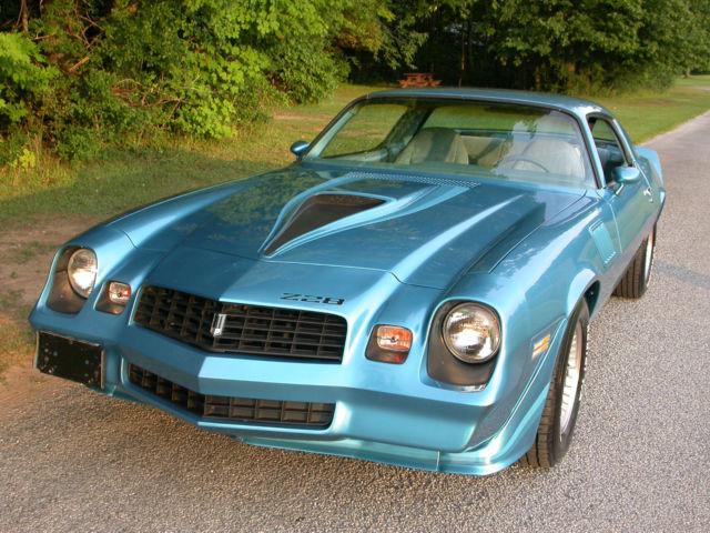 1979 Chevrolet Camaro Z28 350 4 Speed 2 Door Coupe Low Miles Rare Color For Sale Photos Technical Specifications Description