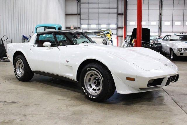 1979 Chevrolet Corvette 26234 Miles White Coupe L82 350 V8