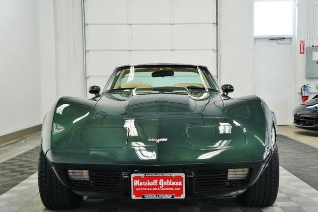 1979 Chevrolet Corvette Dark Green Metallic Tan leather ...