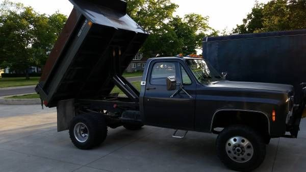 1979 Chevrolet K30 3500 4x4 Dually Dump Bed For Sale In